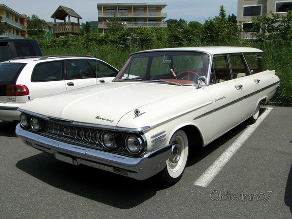 mercury commuter station wagon 1961 a