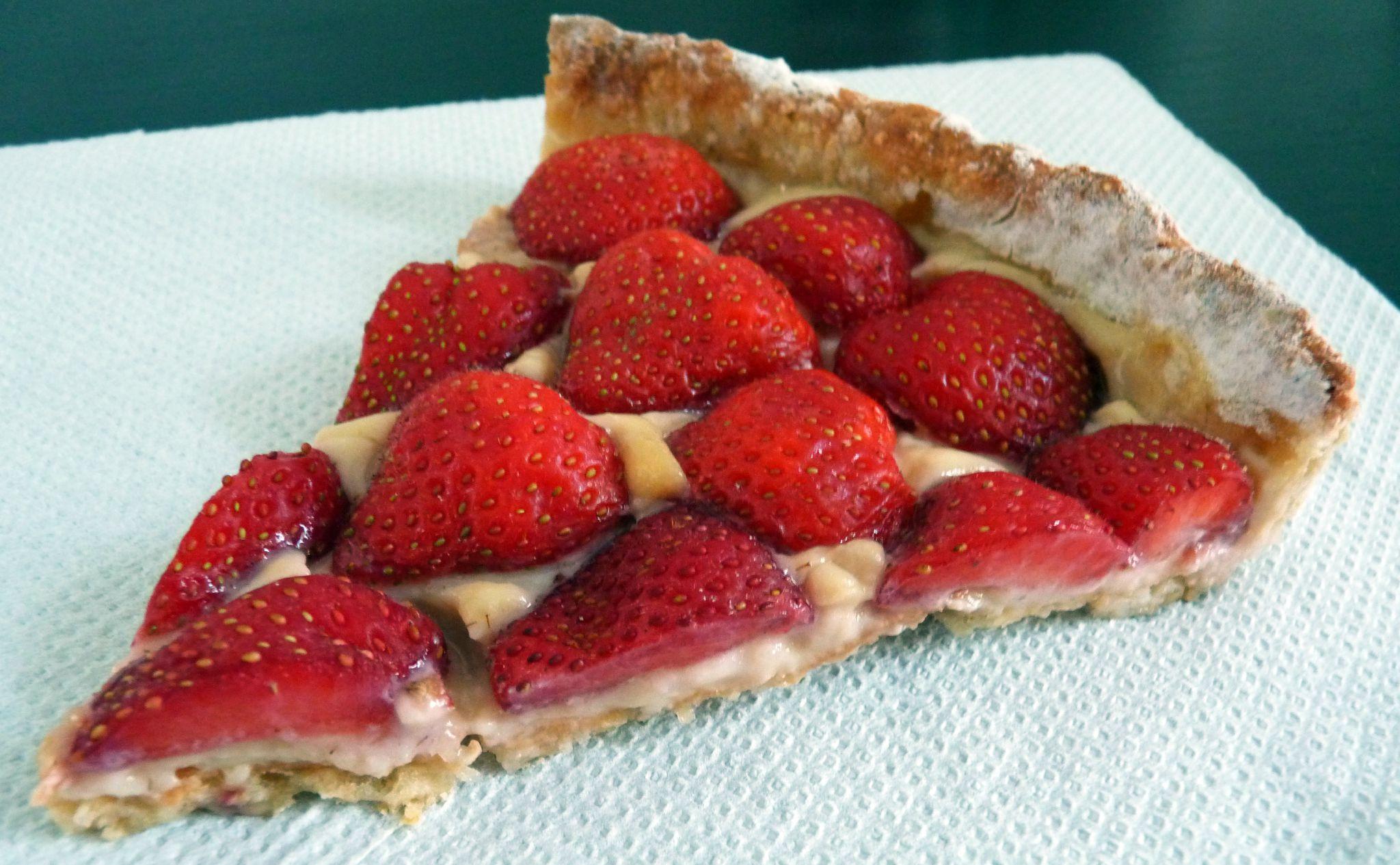 Tarte aux fraises cook box - Decoration tarte aux fraises ...