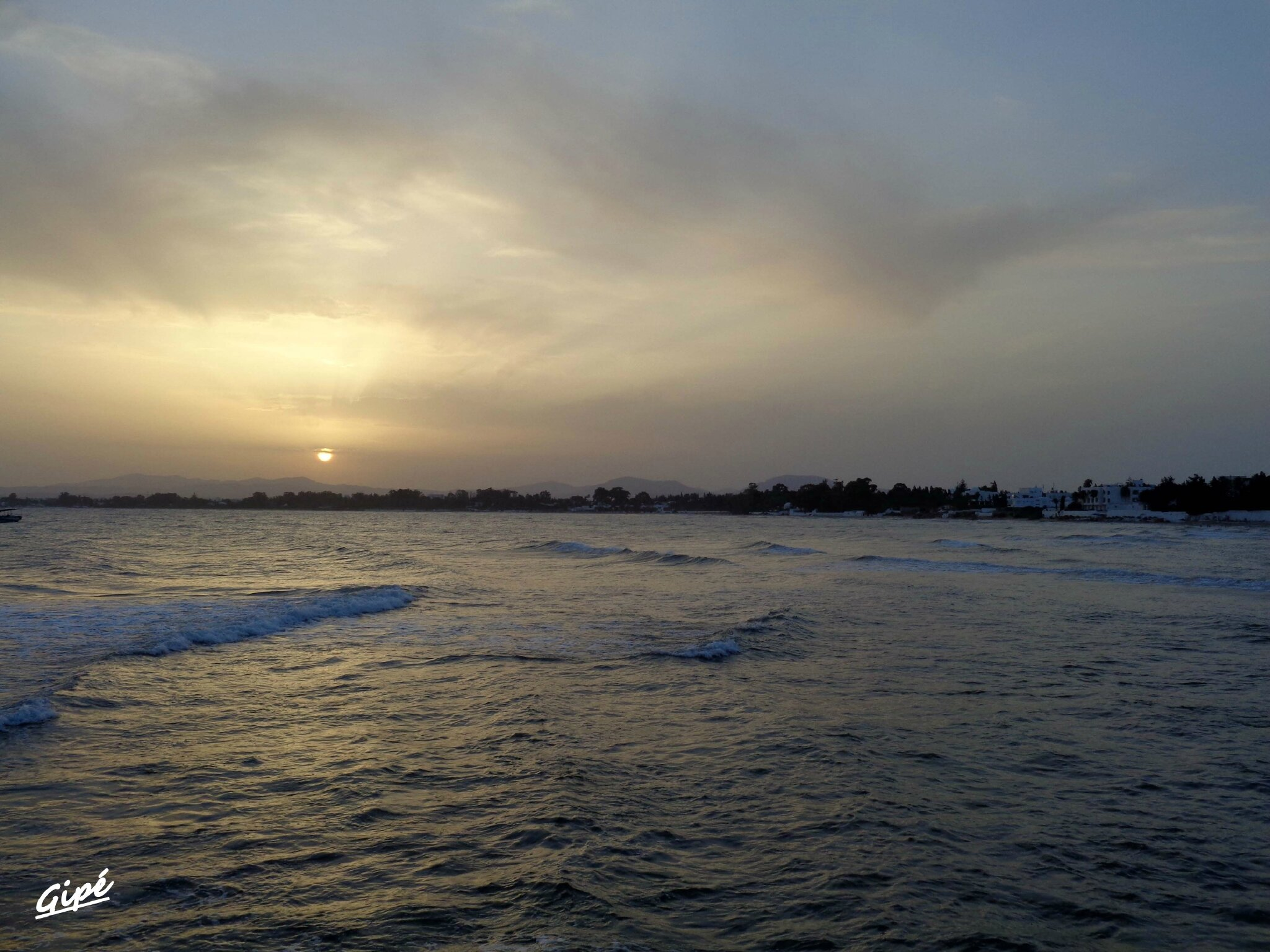 Le coucher de soleil du vendredi 4 juillet 2014