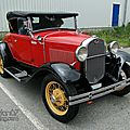 Ford model a roadster 1930-1931