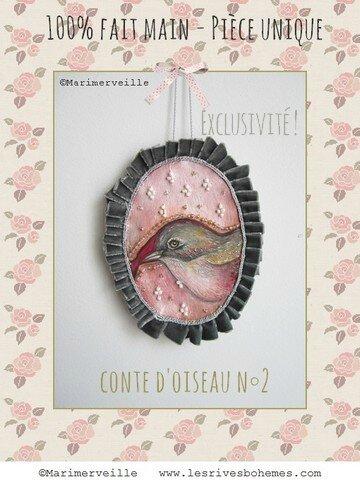 Conte d'oiseau N°2 ©Marimerveille