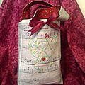 sac ange multicolore