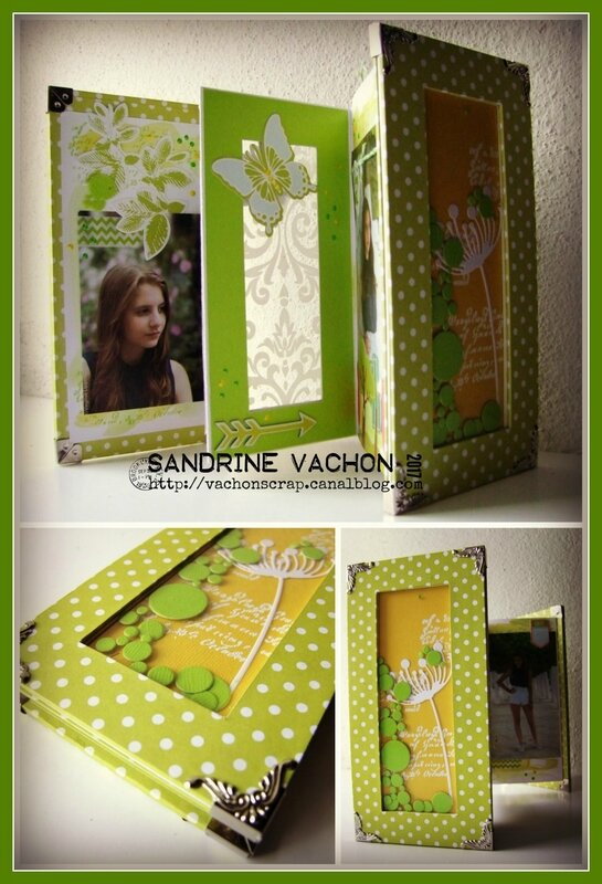 PS67 mini album Sandrine VACHON
