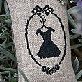 la petite robe noire Christelle Philbert