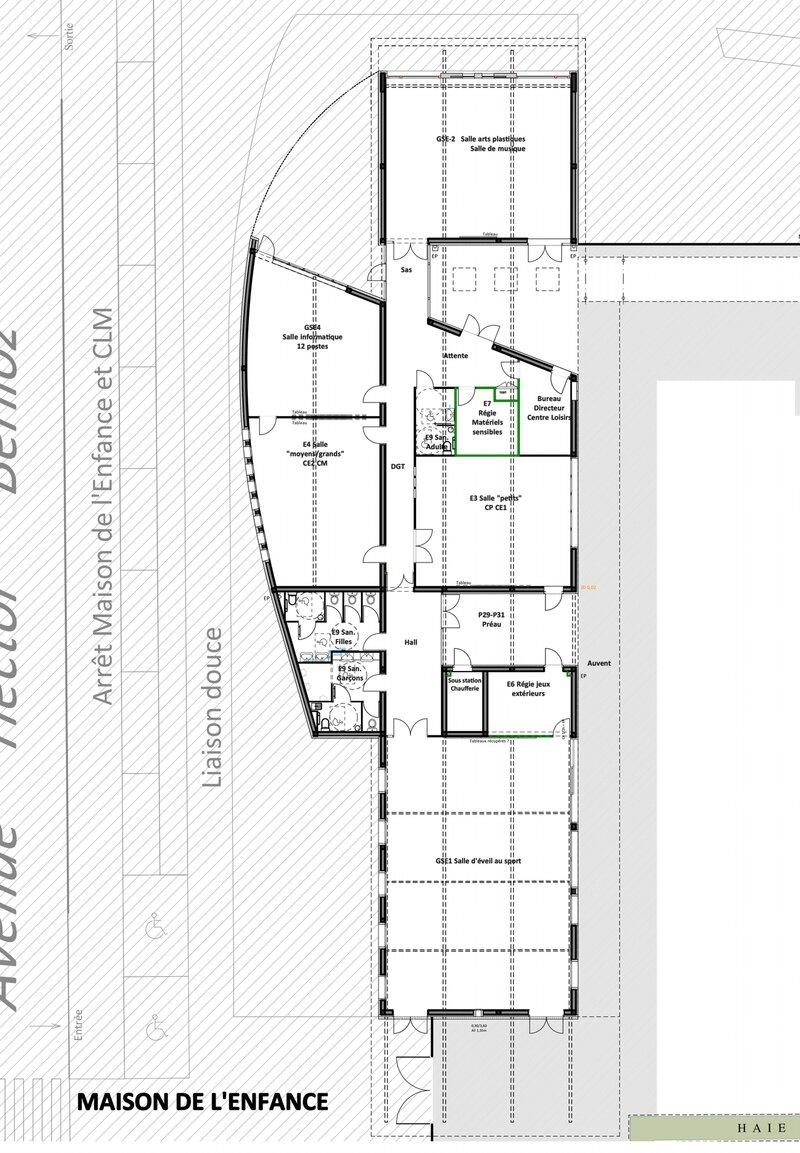 Extension et restructuration de l'école En Gach - Graulhet (81)