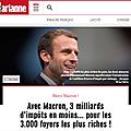 Macron, les vieilles recettes éculées sous prétexte de modernité