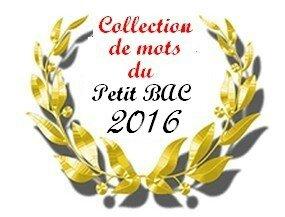 collection de mots 2016
