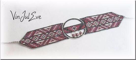 loom gris argent rose