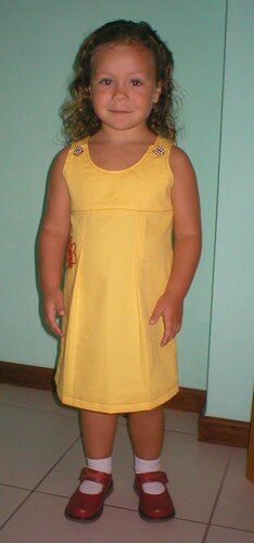 Robe jaune / Vestido amarillo