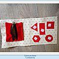 Livre en tissu (part 2 )les formes et le zip