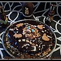 Gateau chocolat/poire pour pâques...