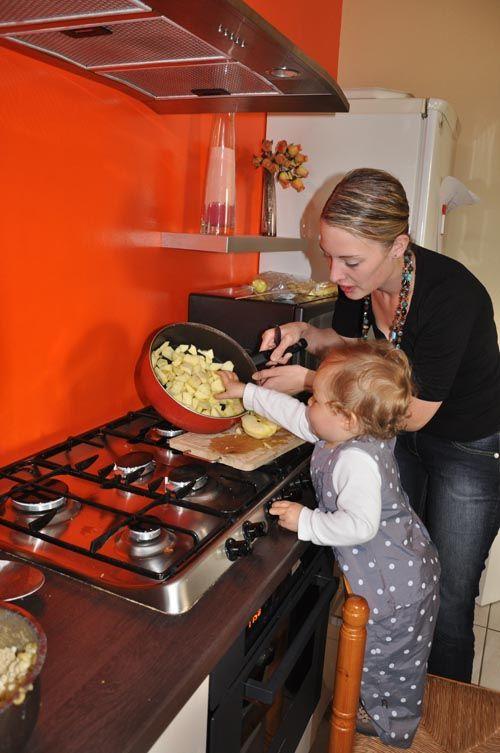 Aujourd 39 hui cuisine avec maman liloucrapouille for Aujourdhui je cuisine
