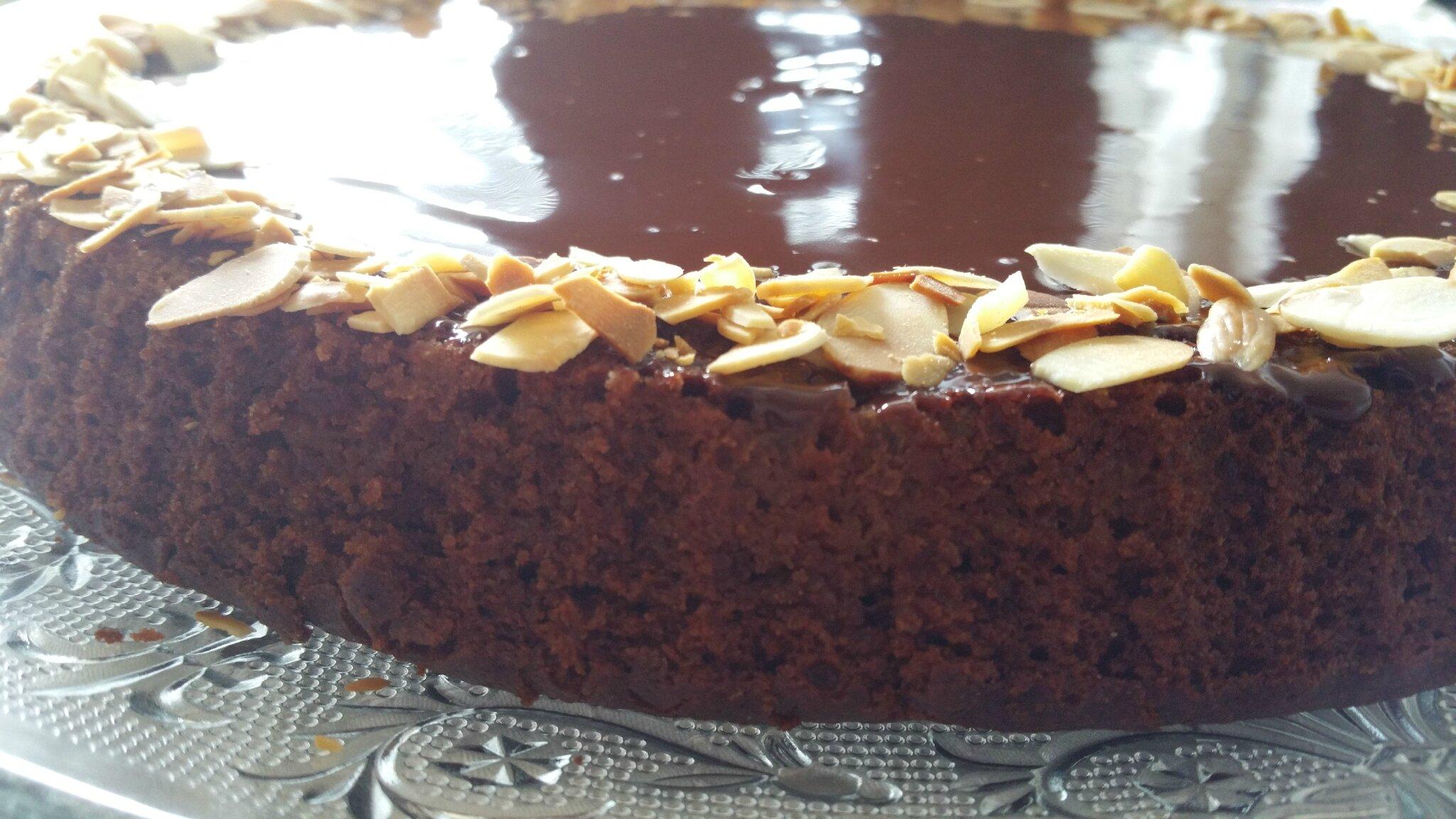 G teau poire chocolat oum sma cuisine - Comment decorer un gateau au chocolat ...