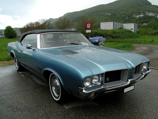 oldsmobile 442 convertible 1971 a