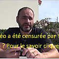 Youtube censure !