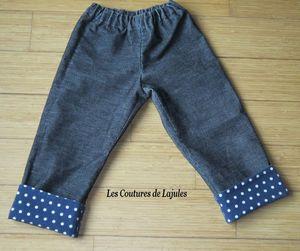 pantalon à revers1