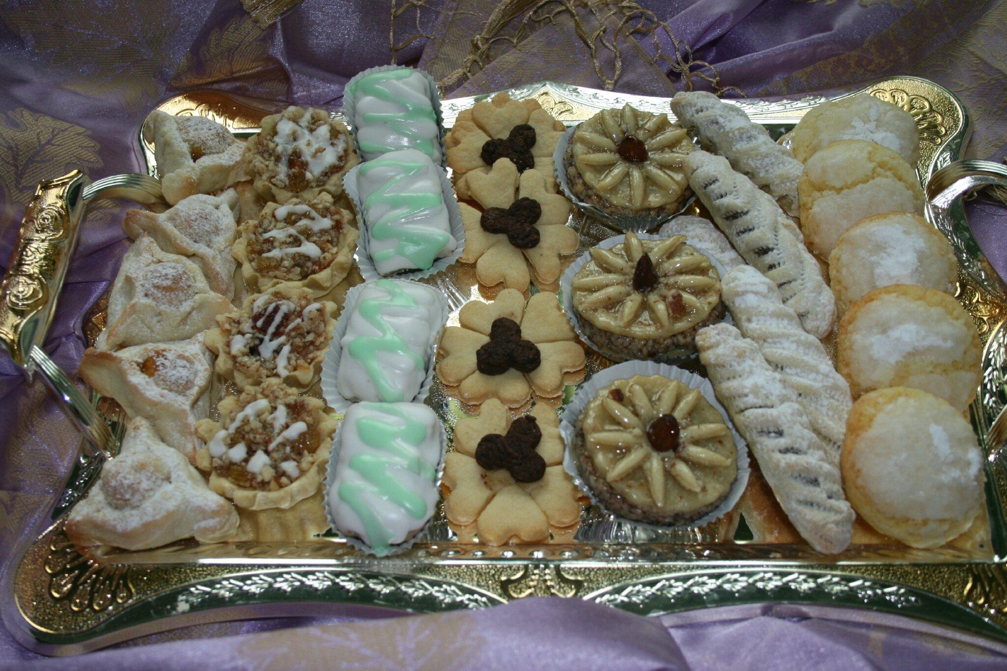 Plateau de gâteaux aid