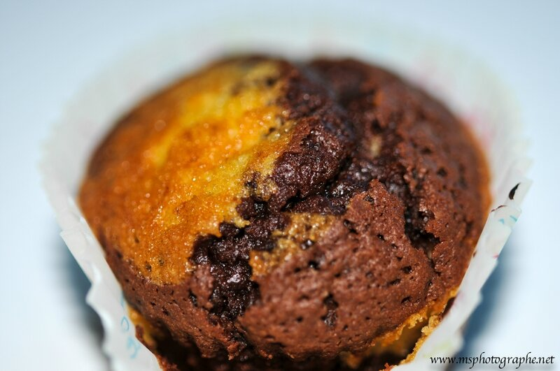 Muffin marbré 2
