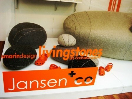 Smarin's design - coussins galets Jansen and co