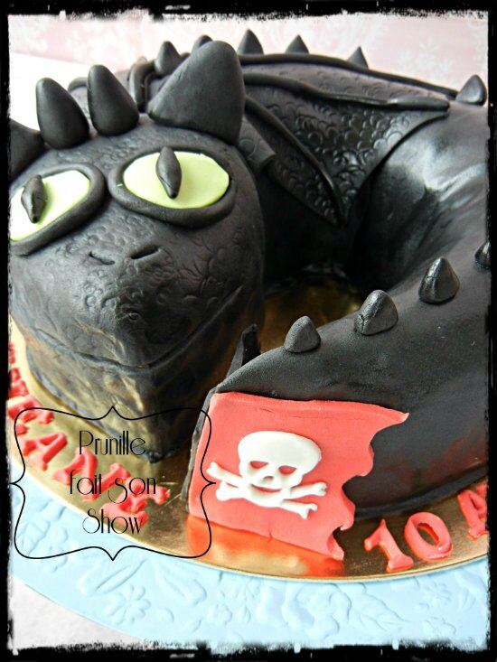 gateau dragon prunillefee 4