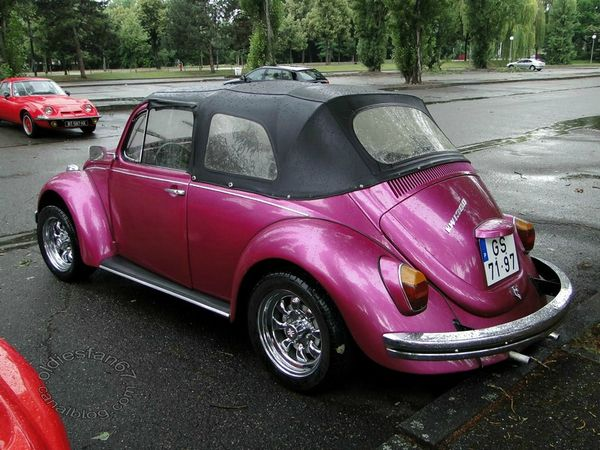 volkswagen coccinelle 1300 transformable 1967 b