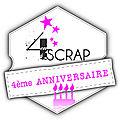 4ème anniversaire de 4enscrap - jour 2