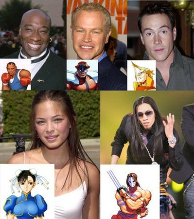 StreetFighter_Movie_Cast