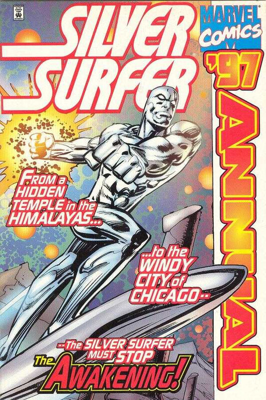silver surfer annual 1997