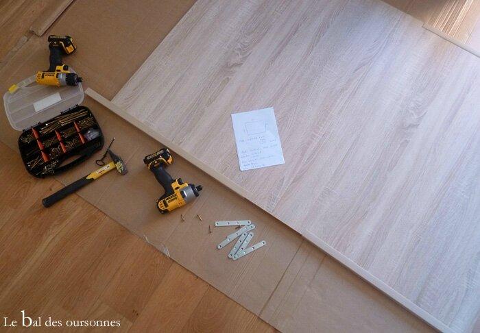 112 Blog Tête de lit DIY Tuto Hand Home Made Planche