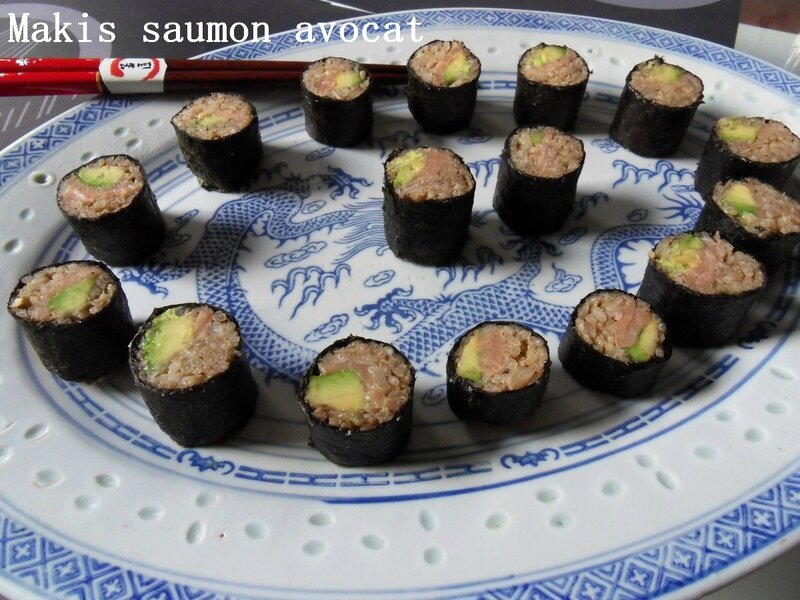 Makis saumon avocat1