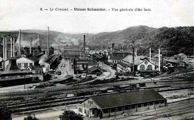 Usine Schneider Le Creusot 1915-6