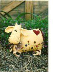 Calico Farm Designs - Lazy Daisy Cow