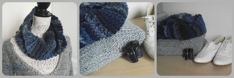 snood et petit pull femm phildar