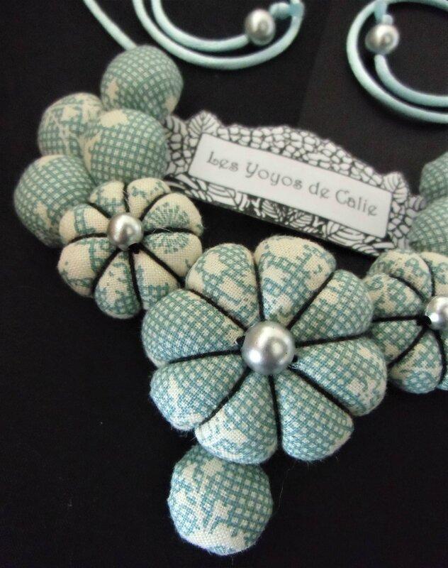 Collier fleurs potirons NAMIKO les yoyos de calie 4