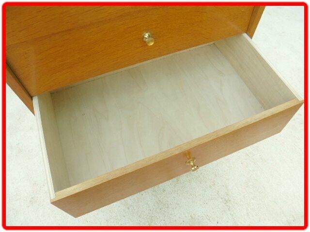 chiffonnier vintage bois clair (3)