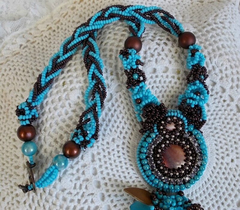 Collier Turquoise 10-1