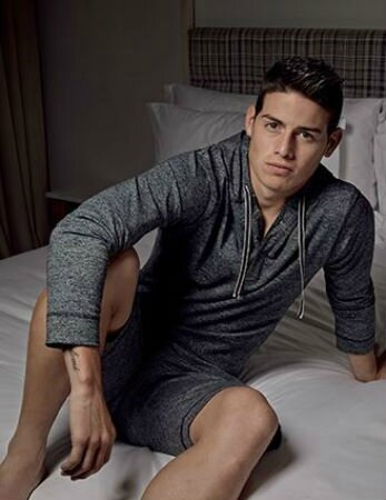 James Rodriguez – model pour Bronzini Black