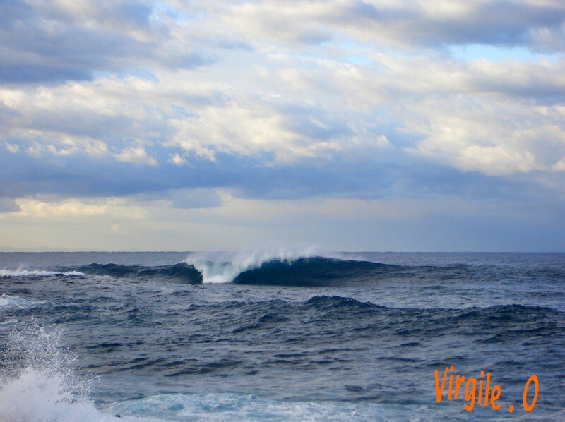 Swell , Ouest Corsica ...