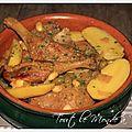 Tajine de canard aux olives et au citron confit