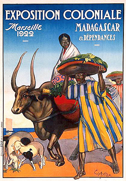 Expo coloniale Marseille, 1922, Madagascar