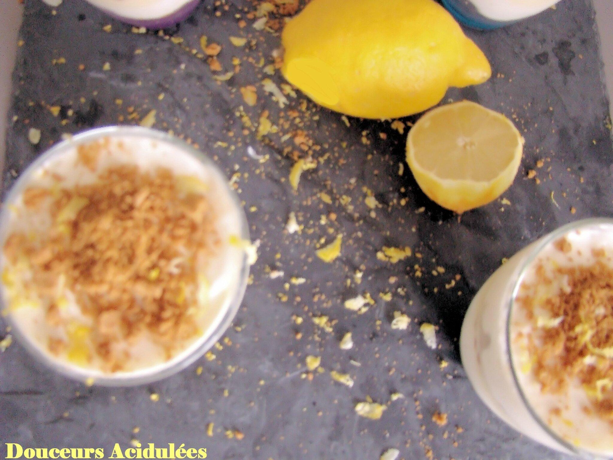 Tiramisu Citron Speculos