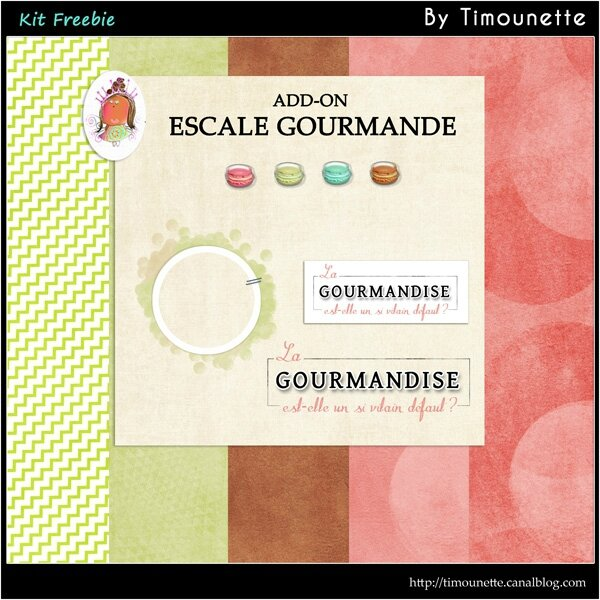 Preview Add-on Kit Escale Gourmande by Timounette