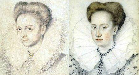 Portrait daté de 1587 pour le second