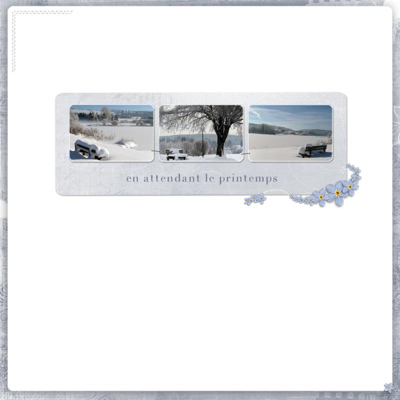 mojosanti_bancs sous la neige