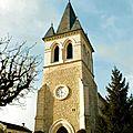 l'église de la commune restaurée