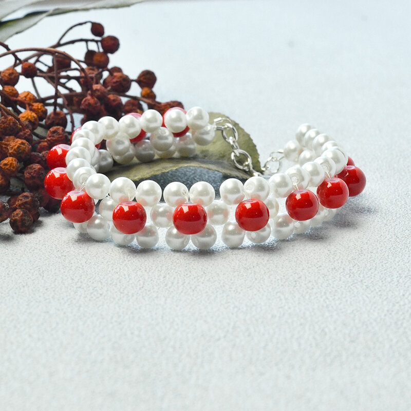 Tutorial-on-Making-a-Pearl-Beads-Stitch-Bracelet-5