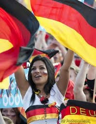 supportrice Allemagne