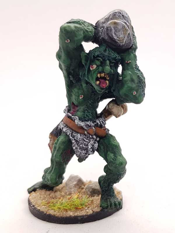 Troll hurling rock / Citadel