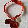 Bracelet d'allaitement Marie (orange)