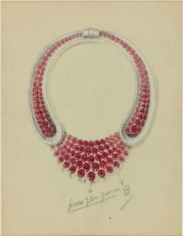F-0019 - Van Cleef & Arpels & René-Sim Lacaze, Important necklace 1939